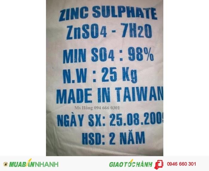 Zinc Sulfate, ZnSO4, Kẽm Sulphate, sản xuất sợi Vitco, thức ăn chăn nuôi, phân bón2