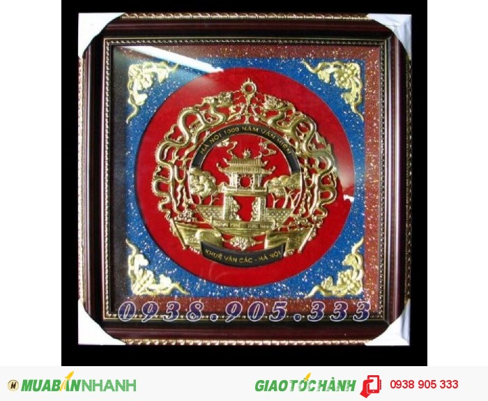 Tranh Chữ Tâm hóa rồng 60x60cm bằng đồngTranh Chữ Tâm hóa rồng 60x60cm bằng đồng0