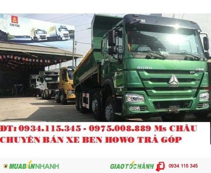 Chuyên phân phối xe ben Howo nhập khẩu - Xe ben Howo 3 chân 4 chân (giò) chính hãng