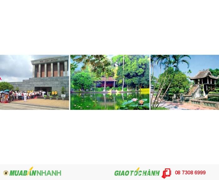 Bảo tàng Hồ Chí Minh - Nhà sàn Bác Hồ - Chùa Một Cột