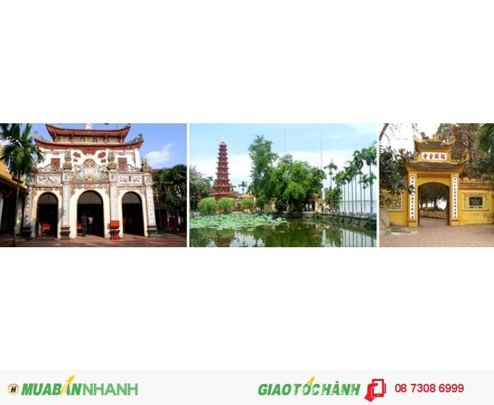 Đền Ngọc Sơn và chùa Trấn Quốc