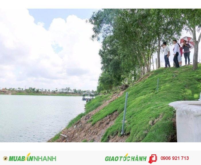 Đất nền nằm trong khu du lịch hồ sinh thái- sổ hồng riêng Gần Hóc Môn