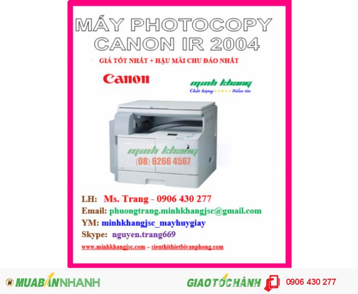 may photocopy canon 20040