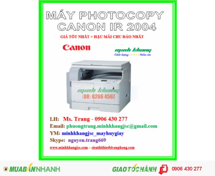 may photocopy canon 20042