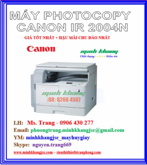MÁY PHOTOCOPY CANON 2004N0