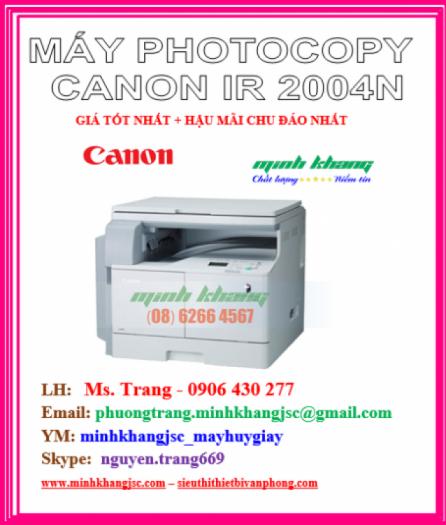 MÁY PHOTOCOPY CANON 2004N1