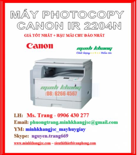 MAY PHOTOCOPY CANON 2204N1