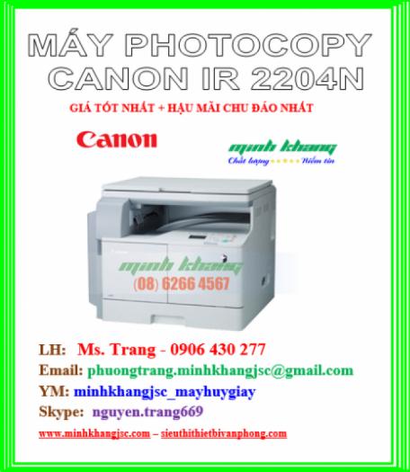 MAY PHOTOCOPY CANON IR 2204N2