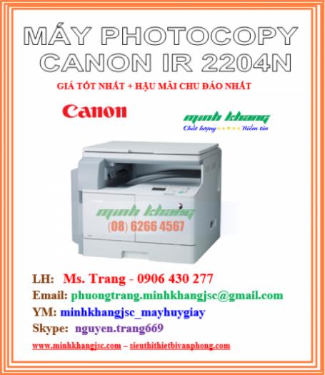 MAY PHOTOCOPY CANON IR 2204N0