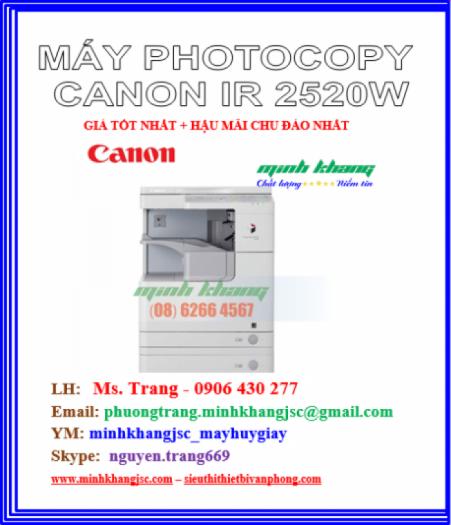 MAY PHOTOCOPY CANON 2520W0
