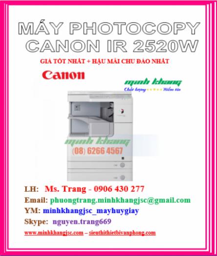 MAY PHOTOCOPY CANON IR2520W1