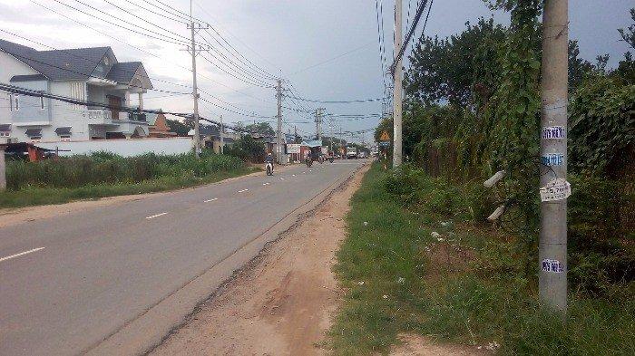 Bán đất mặt tiền tỉnh lộ 8, gần ủy ban xã Hòa Phú – phim trường HTV, đông dân cư, tiện kinh doanh, kho xưởng.