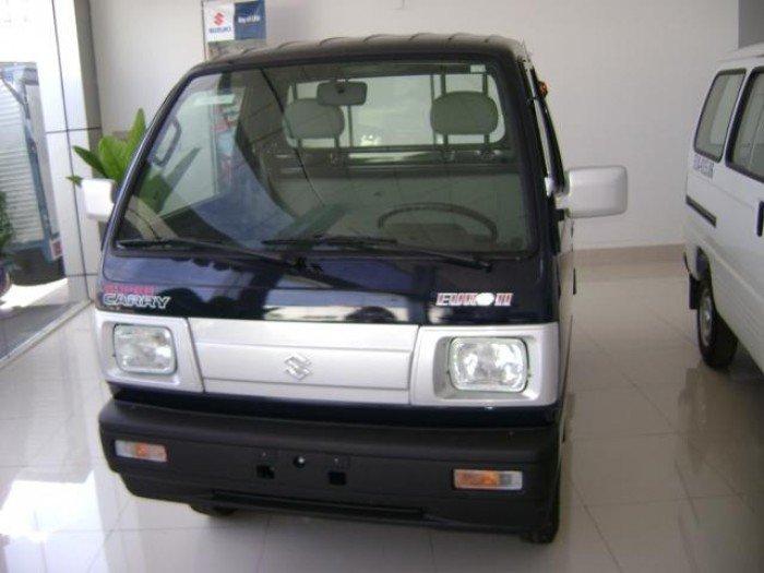 Suzuki truck 550kg màu xanh mạnh mẽ, hàng nhập khẩu lắp ráp chuẩn giao xe ngay