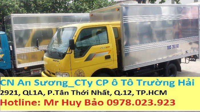 Cần bán Thaco Kia K165S đời 2016. Có bốn màu vàng, trắng, xanh rêu, xanh dương.