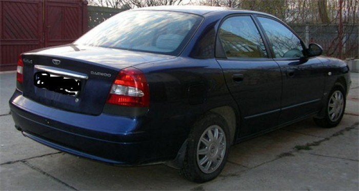 Bán Xe Daewoo Nubira Ii 2004 4