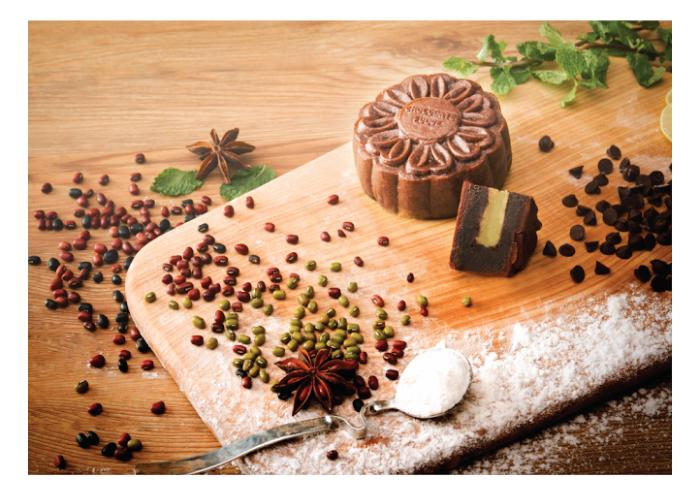Hộp bánh trung thu D'art Chocolate  Vị Trăng Nguyên Khởi B1