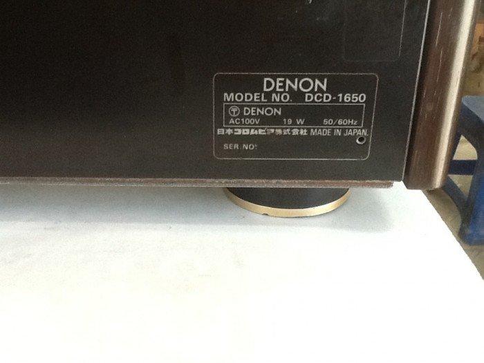 Bán chuyên CD denon CD 1650 hàng bải tuyển chọn từ nhật về3