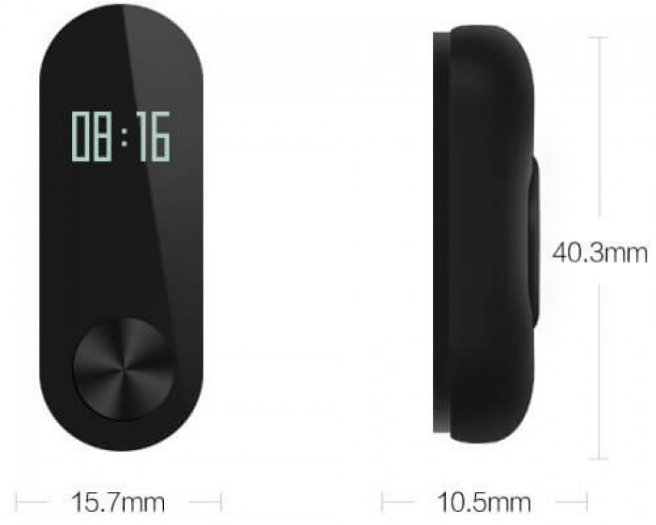 Vòng đeo tay thông minh Xiaomi MiBand 2