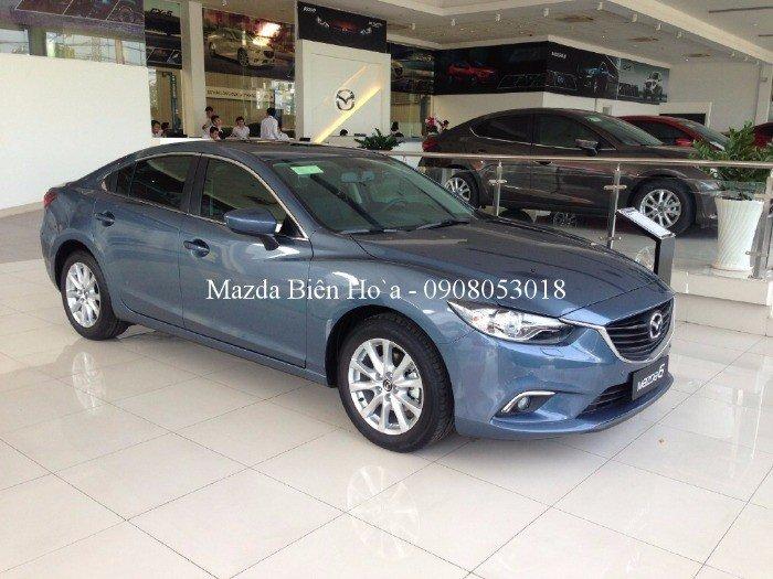 Mazda Biên Hòa, Ưu Đãi Cực Lớn M6, vay ngân hàng lên đến 85% giá trị xe