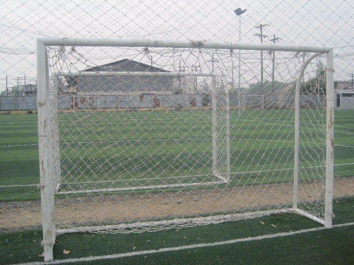 Bộ lưới khung thành HDPE màu trắng0