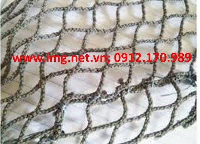 Lưới Nhật đã qua sử dụng Mới 80% Kích thước theo yêu cầu Mắt lưới 1cm, 4