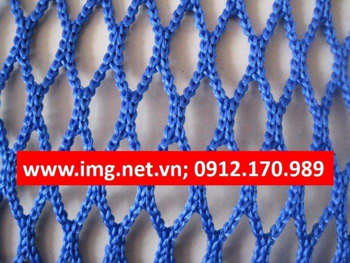 Lưới an toàn polyester Mắt lưới 2.5cm KT: 4m x 50m; 2m x 50m, 3
