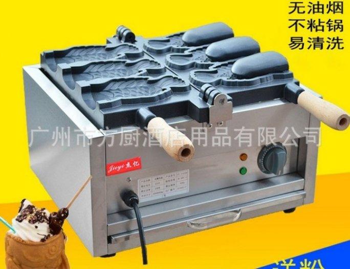 Siêu hot! Máy làm kem cá Hàn Quốc, máy làm kem ốc quế giá rẻ