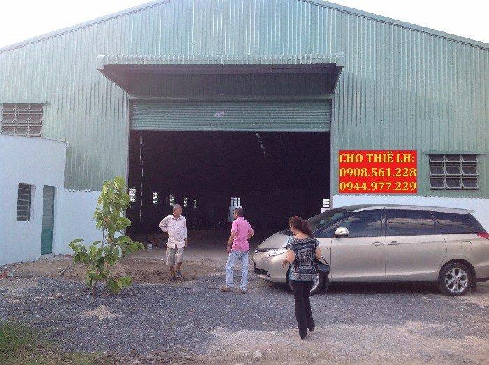 Nhà Xưởng Cho Thuê 1700m2 Phường Hiệp Thành - Quận 12