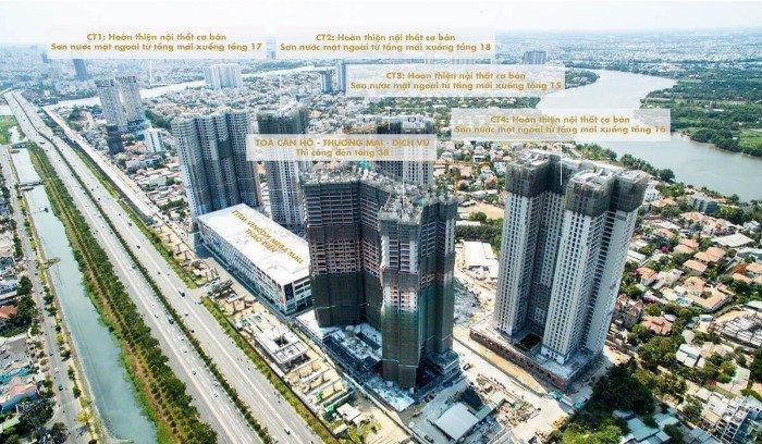 Bán căn hộ Q2 masteri thảo điền, 3PN-92.34m2, view sông, 3.4 tỷ