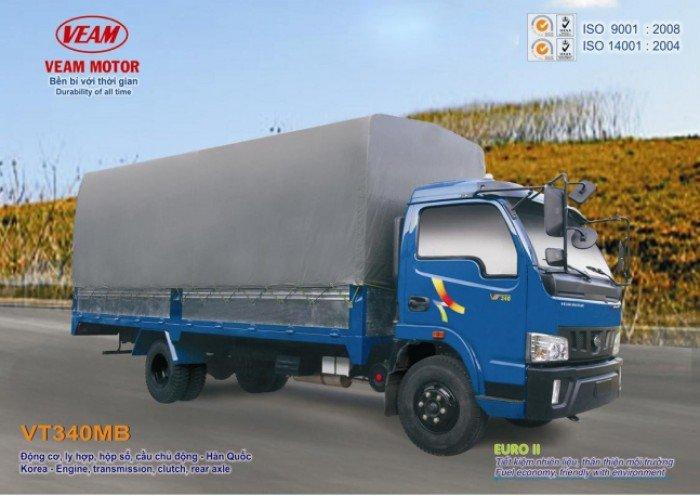 Xe tải veam vt200 xe tải 2t thùng kín