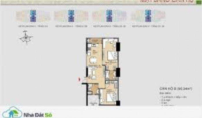 Bán căn hộ loại 2pn , nhà mới 100% , tầng cao , view đẹp . giá chỉ 1ty 370tr