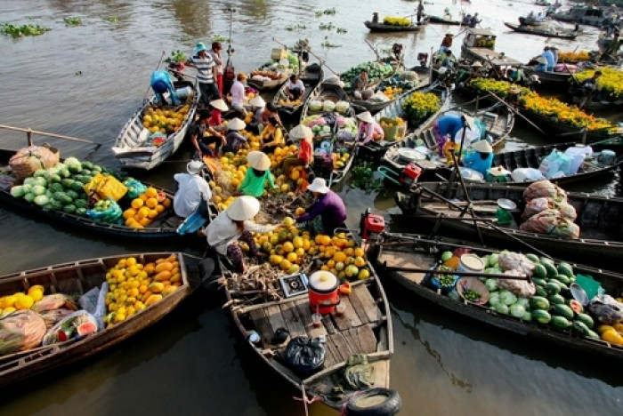 Tour du lịch Chợ Nổi Cái Bè - Vĩnh Long