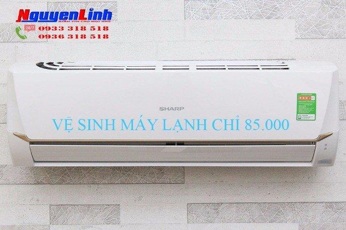 Lắp đặt sửa chữa bảo trì máy lạnh quận 3 - Giá: 85.000 VND
