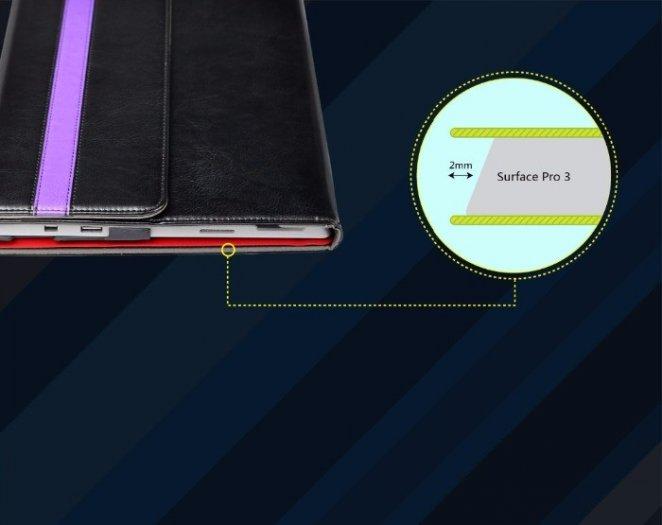 Bao Da Cao Cấp Surface 3 (tặng kem usb 8GB)