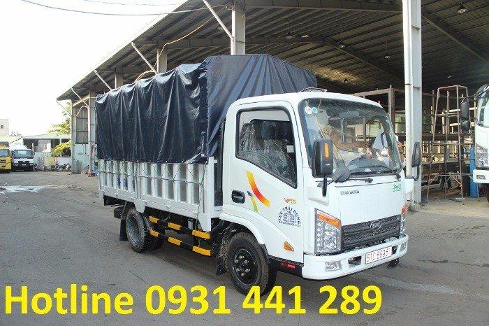 Bán xe tải trả góp veam vt252, vt252 tải trọng 2 tấn 4