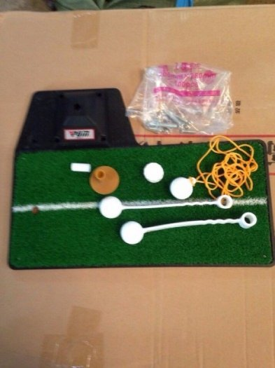 Thoải mái chơi golf tại nhà với thảm tập swing mat0