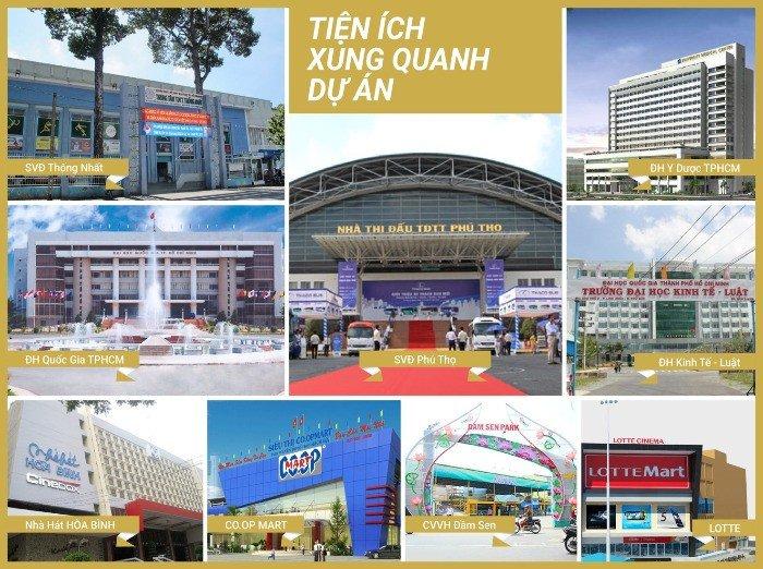 Căn hộ Xi Grand Court Lý Thường Kiệt - Dự án duy nhất sở hữu 4 mặt tiền đường ở Hồ Chí Minh
