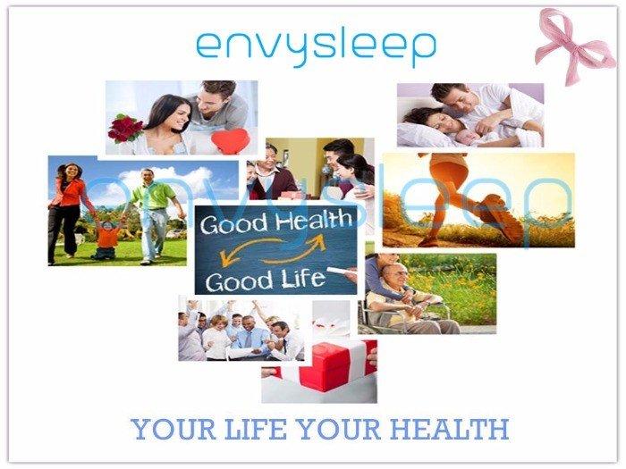 Gối Sức Khỏe Chữ U Envysleep