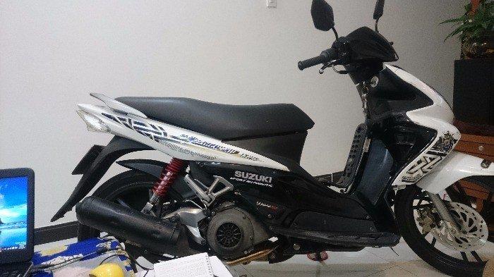 Suzuki Hayate 2011 trắng bstp