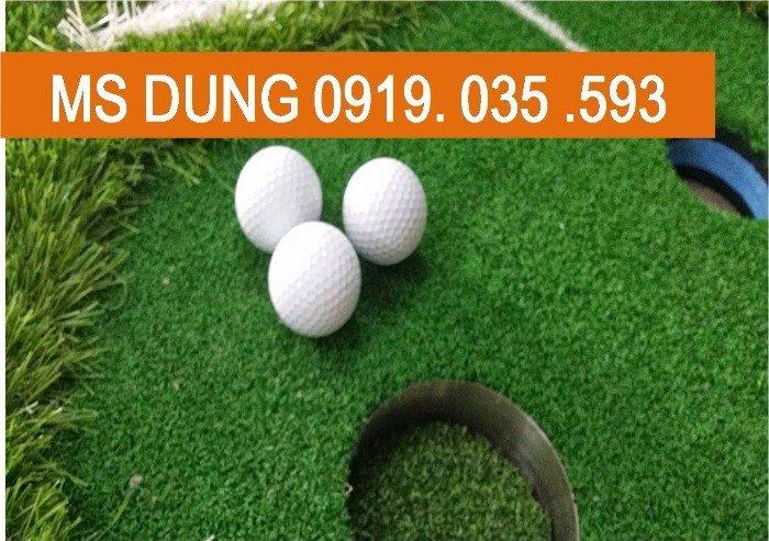 Bóng golf và thảm gạt0