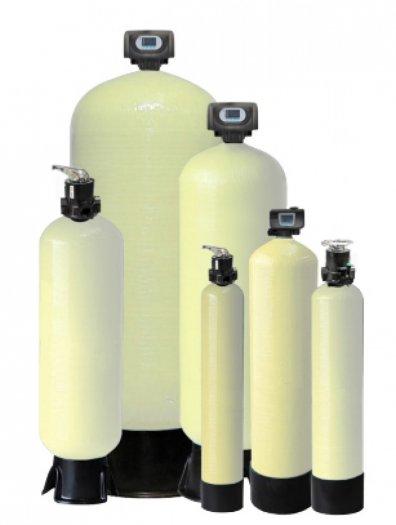 Hệ thống làm mềm nước (Water softener system). Với công suất lọc 0.4-25 m3/h.