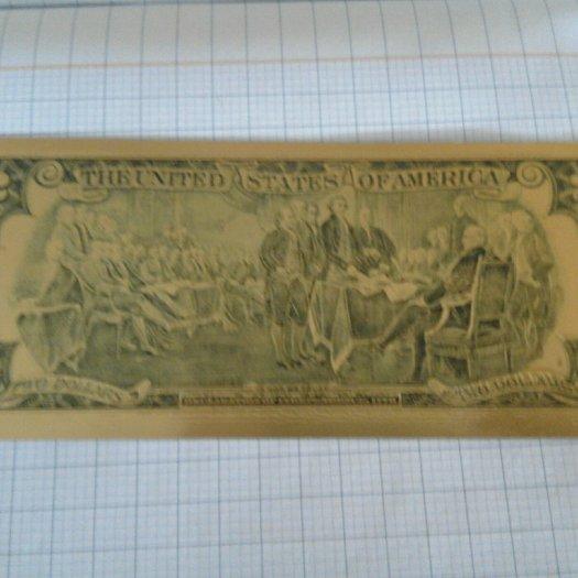 Tờ tiền 2 đô tiền cổ2