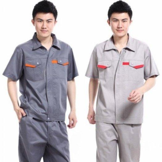 Đồng phục bảo hộ lao động đẹp, trẻ trung, chất liệu tốt