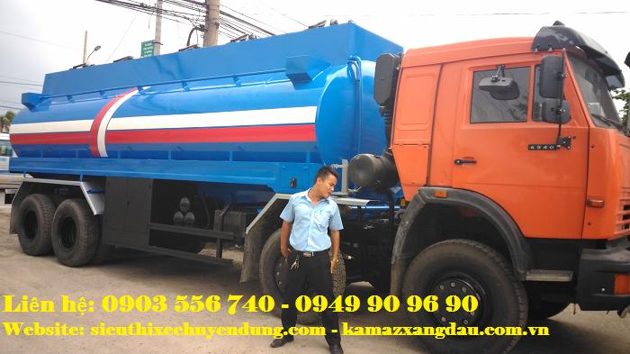 Kamaz 6540 bồn chở 24 khối xăng 3