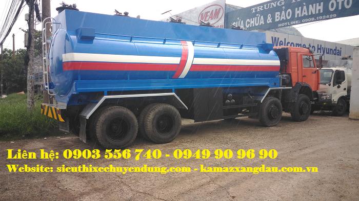 Kamaz 6540 bồn chở 24 khối xăng 4
