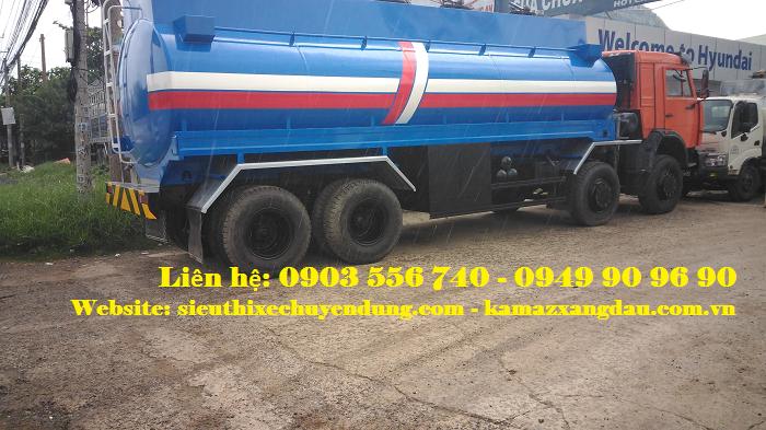 Kamaz 6540 bồn chở 24 khối xăng 2