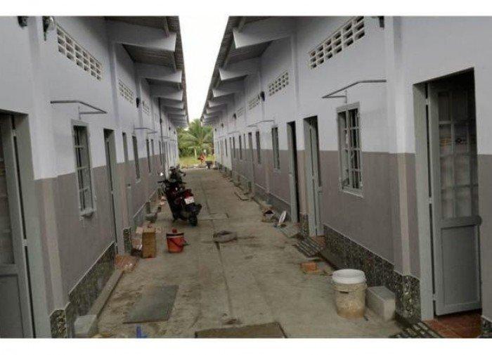 Dãy nhà trọ 14 phòng thuê kín thu nhập 9tr/tháng + Lô đất thổ cư 240m2 xây trọ, nhà xưởng