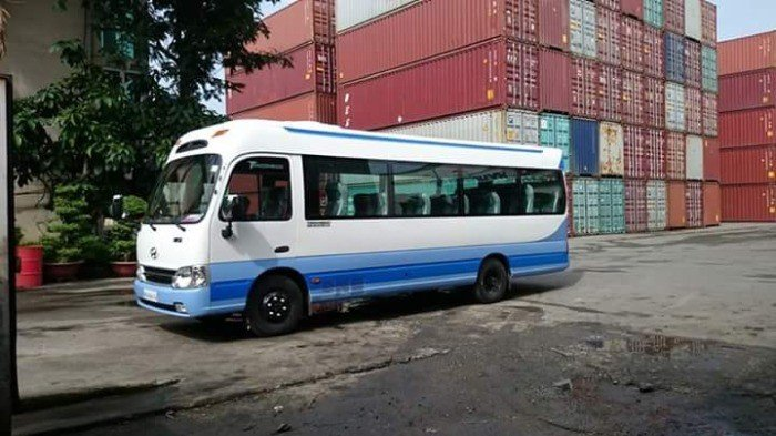 Nhà phân phối xe khách Hyundai 3 Cục Tracomeco 29 ghế