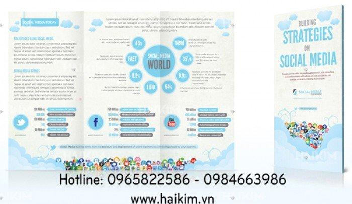 Quy trình thiết kế Catalogue và Brochure ở Hải Kim