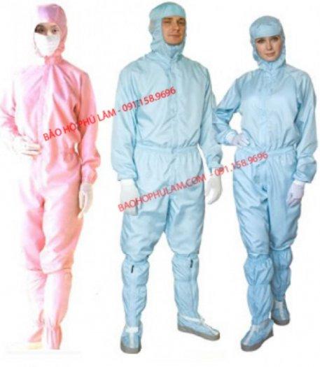Quần áo phòng sạch, chống tĩnh điện